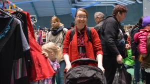 Linnea Grönstrand besökte Megaloppiset i Botniahallen