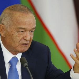 Islam Karimov har varit Uzbekistans president sedan år 1991.