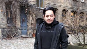 Sherwan Haji i Berlin, 2020.