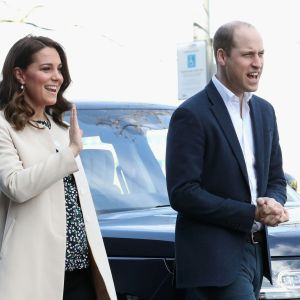 Hertiginnan Kate och prins William.