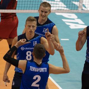 Finlands volleybollsherrar.