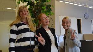 Jepokryddona Christine Julin-Häggman, Katarina Liljeqvist, Iris Lillas