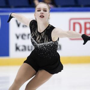 Viveca Lindfors i Finlandia Trophy.