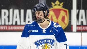Jenniina Nylund spelar i A-landslaget.