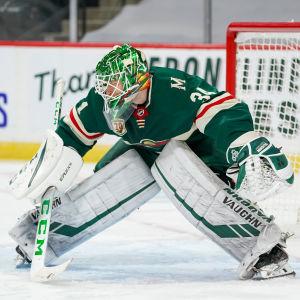 Minnesotas målvakt Kaapo Kähkönen.