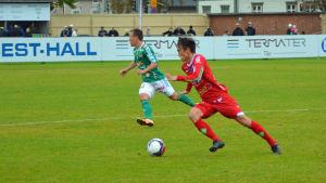 Joni Remesaho har tagit chansen i FF Jaro.