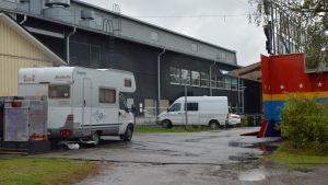 husbil på cirkus finlandia