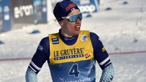Iivo Niskanen åker i Tour de Ski.