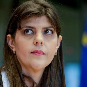 Chefsåklagaren Laura Kövesi