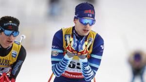 Alexander Ståhlberg under världscupen i Lahtis.