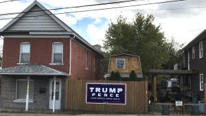 Donald Trump är populär i Luzerne County.