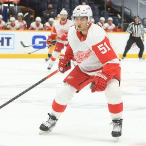 Valtteri Filppula på isen.