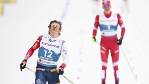 Johannes Høsflot Klaebo i VM.