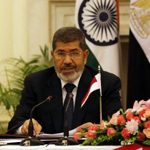 Egyptens avsatte president Mohamed Morsi.