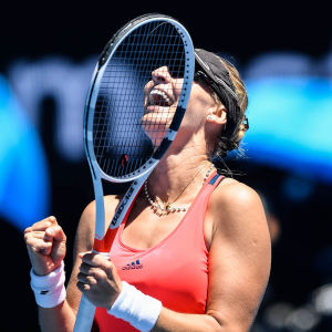 Mirjana Lucic-Baroni är semifinalklar i australiska öppna.