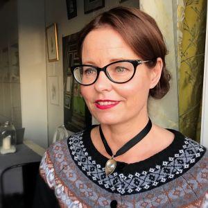 Ett porträtt av Camilla Lindberg.