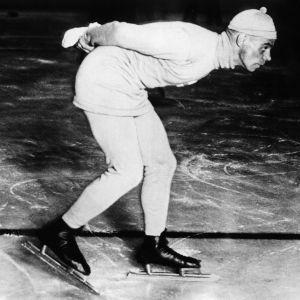 Clas Thunberg skrinnar ca 1931.
