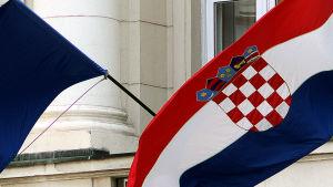 Kroatiens flagga