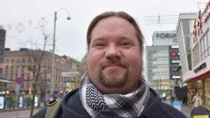 Janne Wass, chefredaktör för Ny Tid