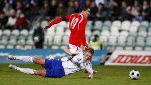 Jonas Portin i U21-landslaget.