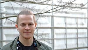 Sebastian Björkman studerar vid Aalto-universitetet