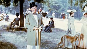 Maurice Chevalier elokuvassa Gigi