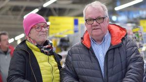 Personporträtt på Lena Andersson och Håkan Nystedt