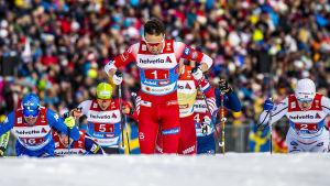 Emil Iversen vid VM 2019.