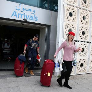 Brittiska turister i Tunisien