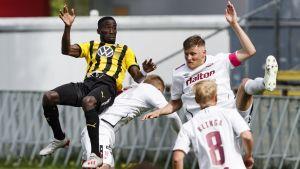 Honka spelar mot FC Lahti.