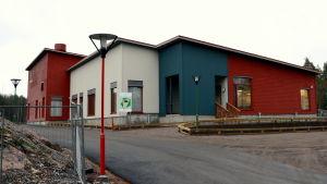 Grännäs nya skola.