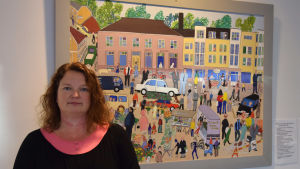 Tf. Kultursekreterare i Raseborg Sanna Himmelroos.
