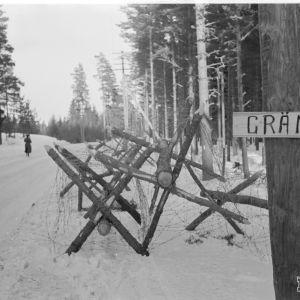 26.3.1940 Lappohja. Uusi raja.