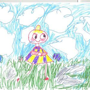 Hilma, 6 år