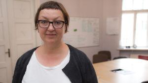 Venäläinen Galina Timtshenko, Meduza-verkkosivuston päätoimittaja