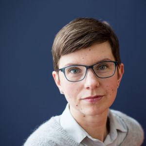 Yles reporter Linda Söderlund