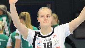 Emma Aarnio i VästeråsIrsta hösten 2018.