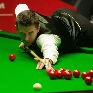 Mark Selby besegrar Ronnie O'Sullivan i VM i snooker 2014.