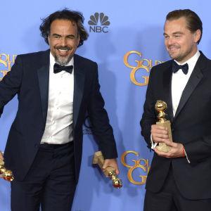 Alejandro González Iñárritu och Leonardo DiCaprio