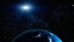 Kuvassa maapallo avaruudesta käsin.