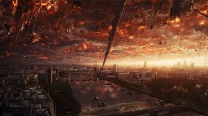 Utomjordingar anfaller London från rymden.