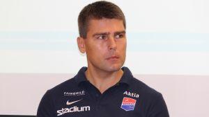 Björn Monnberg, tränare för Dicken.