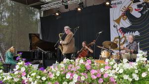 Juhani Aaltonen Quartet Porin Jazz 2015