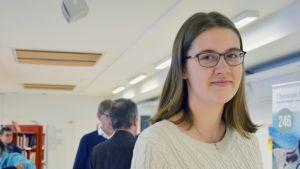Unga vill rösta i EU-valet.