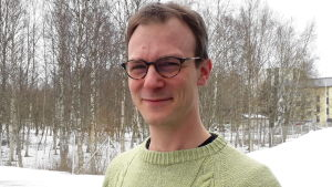 Kim-Erik Berts, lärare i filosofi och matematik.