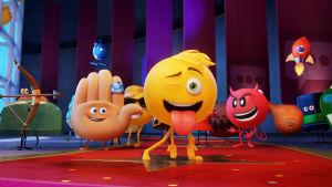 en samling emojies från filmen