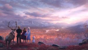 Sven, Olof, Christoff, Elsa och Anna