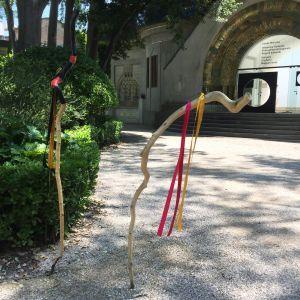En del av Outi Pieskis verk på Venedigbiennalen 2019.