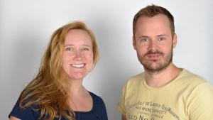 På bilden syns Isa och Dan som båda varit programledare för Sex & Sånt.