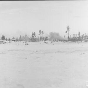 20.1.1940 Kollaanjoen rannalla ryssien tykistötulta.